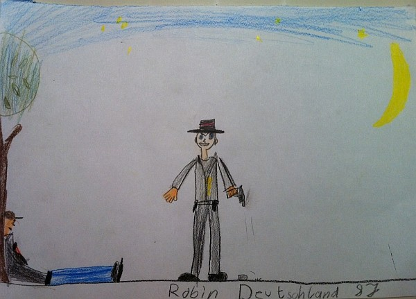 Robin, Age 8 - Tamm, Germany